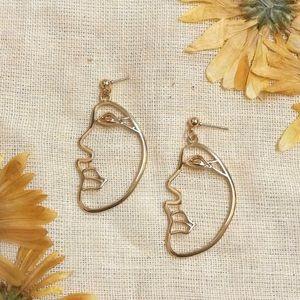Phantom Face Earrings